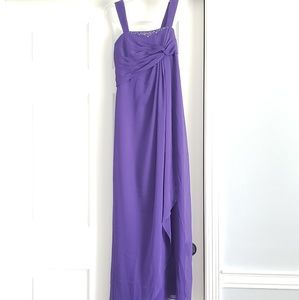 David Bridal Purple Special Occasion Dress